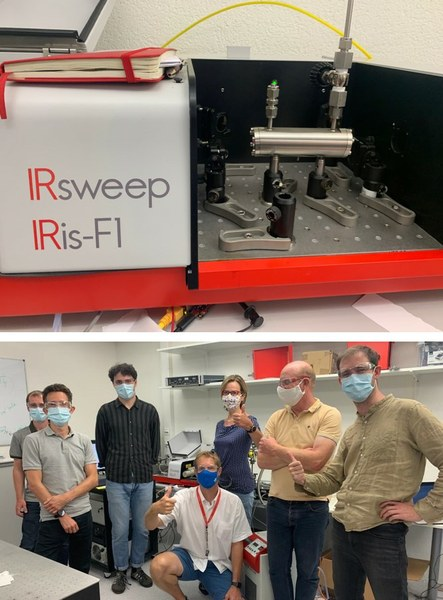 A new spectrometer for the LOS platform: first in Belgium and world premiere!